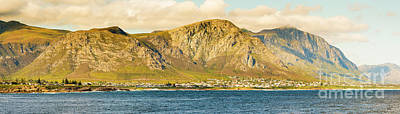 Photograph - Hermanus Sunset Panorama by Tim Hester