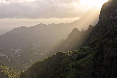 Photograph - Hermigua Valley La Gomera Canary Islands by Marek Stepan