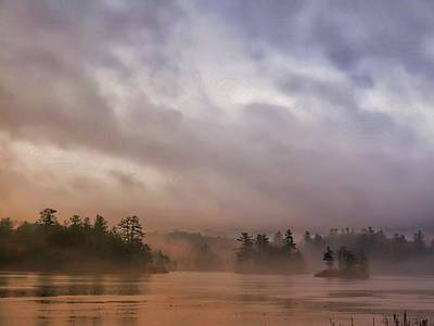 Photograph - Hermit Lake Foggy Morning by Phyllis Meinke