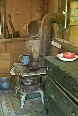 Homesickness Photograph - Hermits Cabin by Douglas Barnett