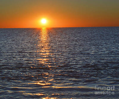 Photograph - Hernando Beach Sunset 1 by Robert  Suggs