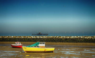 Photograph - Herne Bay Old Pier Kent  by David French