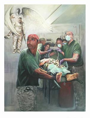 Painting - Hero Ascending by Todd Krasovetz