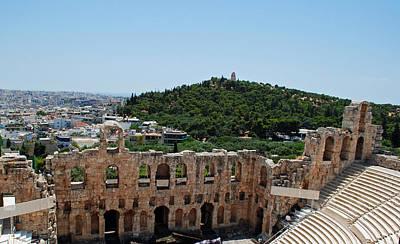 Photograph - Herodeons Amphitheatre by Robert Moss