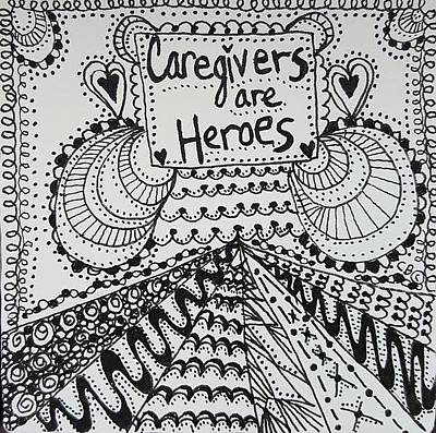 Drawing - Heroes by Carole Brecht