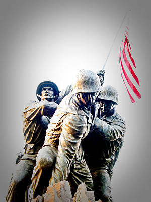 Washington D.c Photograph - Heroes by Julie Niemela