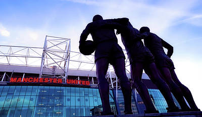 Photograph - Heroes Of Old Trafford  by Mountain Dreams