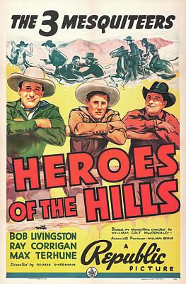 Heroes Of The Hills 1938 Art Print