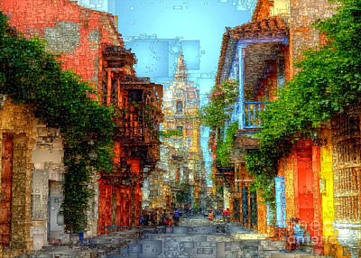 Heroic City, Cartagena De Indias Colombia Art Print