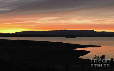 Photograph - Heron Lake Sunset by Tim Richards