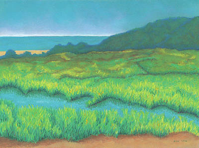 Pastel - Heron's Home by Anne Katzeff