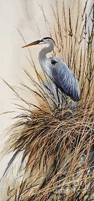 Heron's Solitude Original by James Williamson