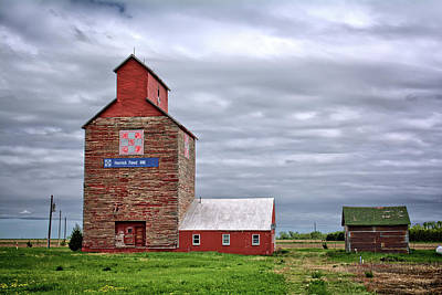 Photograph - Herrick Feed Mill by Bonfire Photography