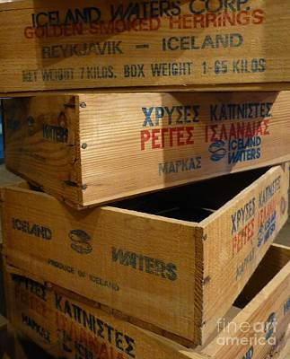 Photograph - Herring Boxes Without Topses by Barbie Corbett-Newmin