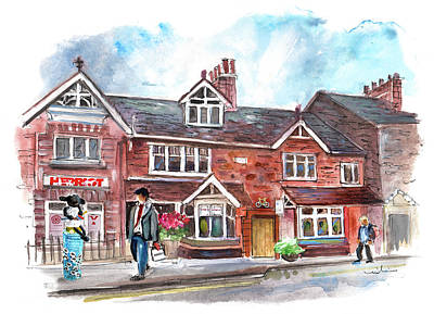Painting - Herriot Museum In Thirsk 02 by Miki De Goodaboom