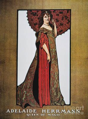 Photograph - Herrmann: Poster, 1903 by Granger
