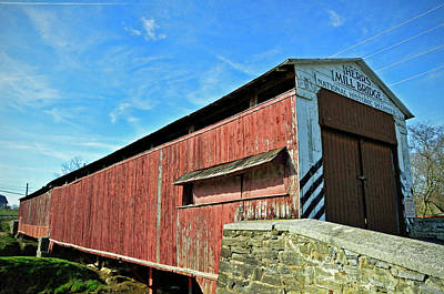 Photograph - Herrs Mill Bridge by David Arment