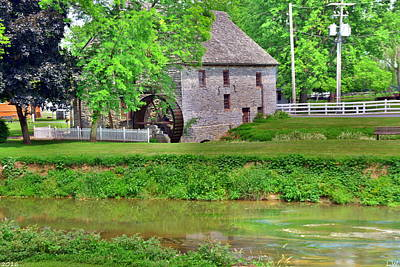 Photograph - Herr's Mill Village by Lisa Wooten