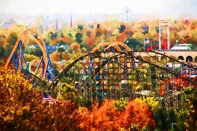 Photograph - Hershey Fall Colors by Alice Gipson