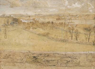 Animal Surreal - Hertervig, Lars 1830-1902, landscape by Hertervig Lars