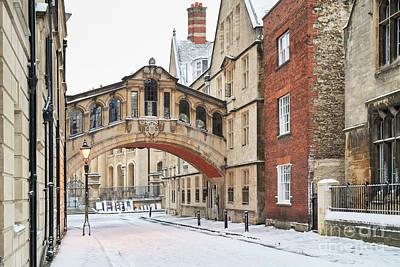 Photograph - Hertford Bridge In Winter by Tim Gainey