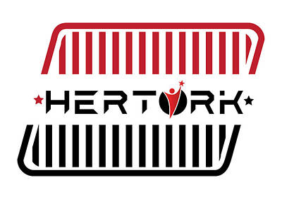 Herturk Fashion Brand Logo Art Print by Emre Yaprak