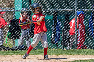 Photograph - He's A Hitter by Mike Farslow