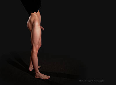 Art Print featuring the photograph He's Got Legs Part 2 by Michael Taggart