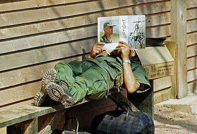 Photograph - He's Not Uptight by Robert Holden