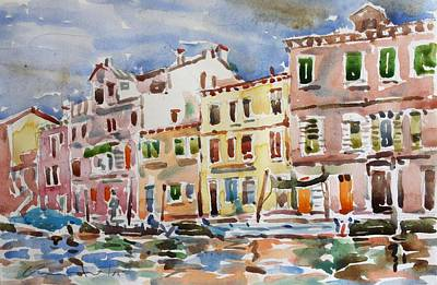 Painting - Hesperia, Venice by Owen Hunt