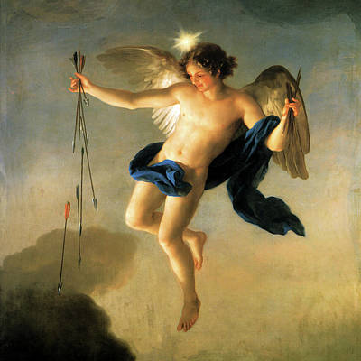 Painting - Hesperus As Personification Of The Evening by Anton Raphael Mengs