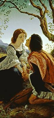 Holding Painting - Hesperus The Evening Star Sacred To Lovers by Sir Joseph Noel Paton