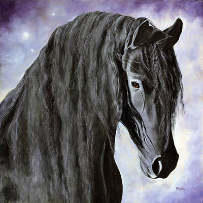Painting - Hessel-the Gentle Giant by Marina Petro