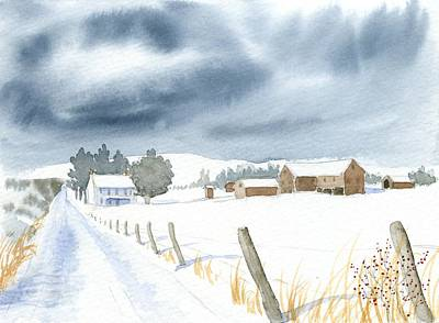 Hester Homeplace Art Print by Denise   Hoff