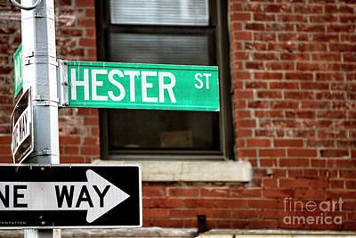 Photograph - Hester Street by John Rizzuto