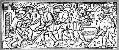 Het Photograph - Het Kolven, 1497 by Granger