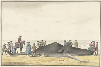 Het Painting - het strand tussen Zandvoort  by MotionAge Designs