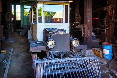 Old West Photograph - Hetch Hetchy Rail Car by Garry Gay