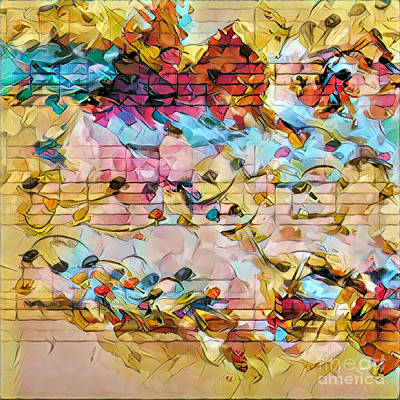 Digital Art - Heterophony Squared 1 by Lon Chaffin