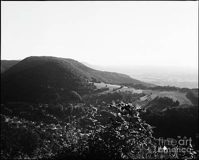 Photograph - Heubach View Towards Scheuelberg by Benjamin Wiedmann