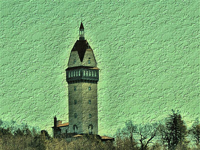Photograph - Heublein Tower by Charles HALL