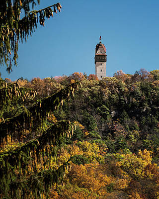Photograph - Heublein Tower by Phil Cardamone
