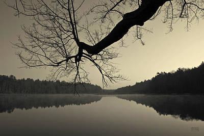Contemplative Photograph - Hewitt Pond by David Gordon