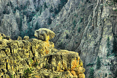 Photograph - Hey Boulder Above Black Canyon by Jeff Swan
