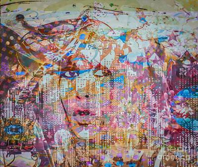 Many Faces Digital Art - Hey Good Lookin by Eleni Mac Synodinos