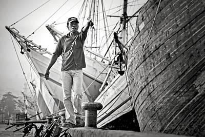 Dock Photograph - \hey!\ by Hengki Lee