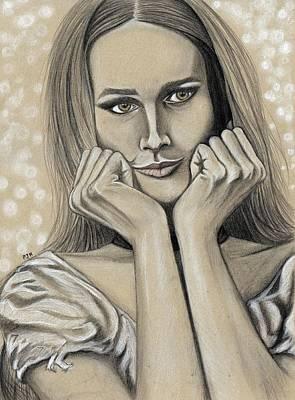 Hey Maddalena Art Print