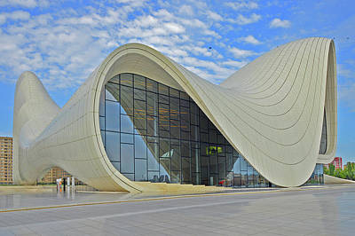 Cartoons Tees - Heydar Aliyev Center. Baku. by Andy Za