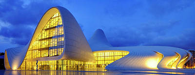 Photograph - Heydar Aliyev Center by Fabrizio Troiani