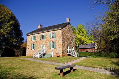Photograph - Hezekiah Alexander Homesite In Charlotte by Jill Lang